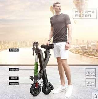 X1 可折疊電動自行車 鋰電池 電動滑板車 電動輔助自行車 電動助力自行車 電動車