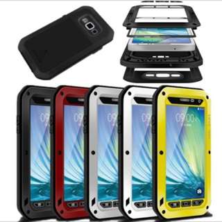 Lifeproof Waterproof Armor Metal Case For Samsung Galaxy S3 S4 S5 S6 S7 Note 3 4 5 A3 A5 A7 A9