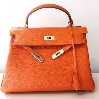 Hermes H Kelly bag