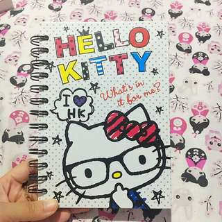 Hello Kitty Note Book Notes Buku