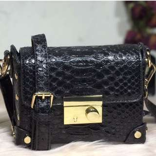 CELESTINE (Crocodile Print Design Cross Body Bag)