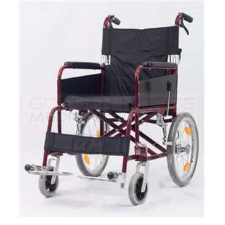 ALFF1662 Aluminum Travel Wheelchair