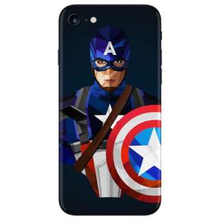 Slickwraps: Captain America For Iphone 7