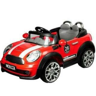 Minicooper 造型雙驅/遙控/自駕兒童電動車