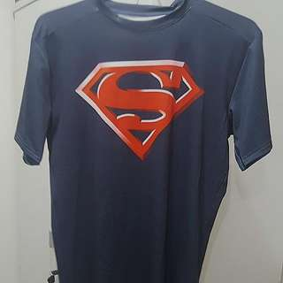 Under Armour Mens Alter Ego Superman Compression Shirt