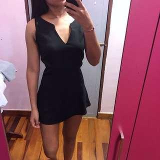 Black Fishtail Top/Dress