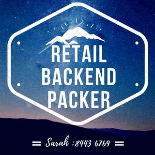 **Start Work NOW, Parkway Parade, $7.50** Retail BACKEND PACKER X2