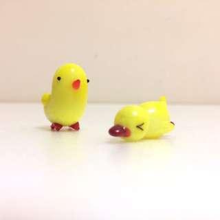 療癒玻璃小雞
