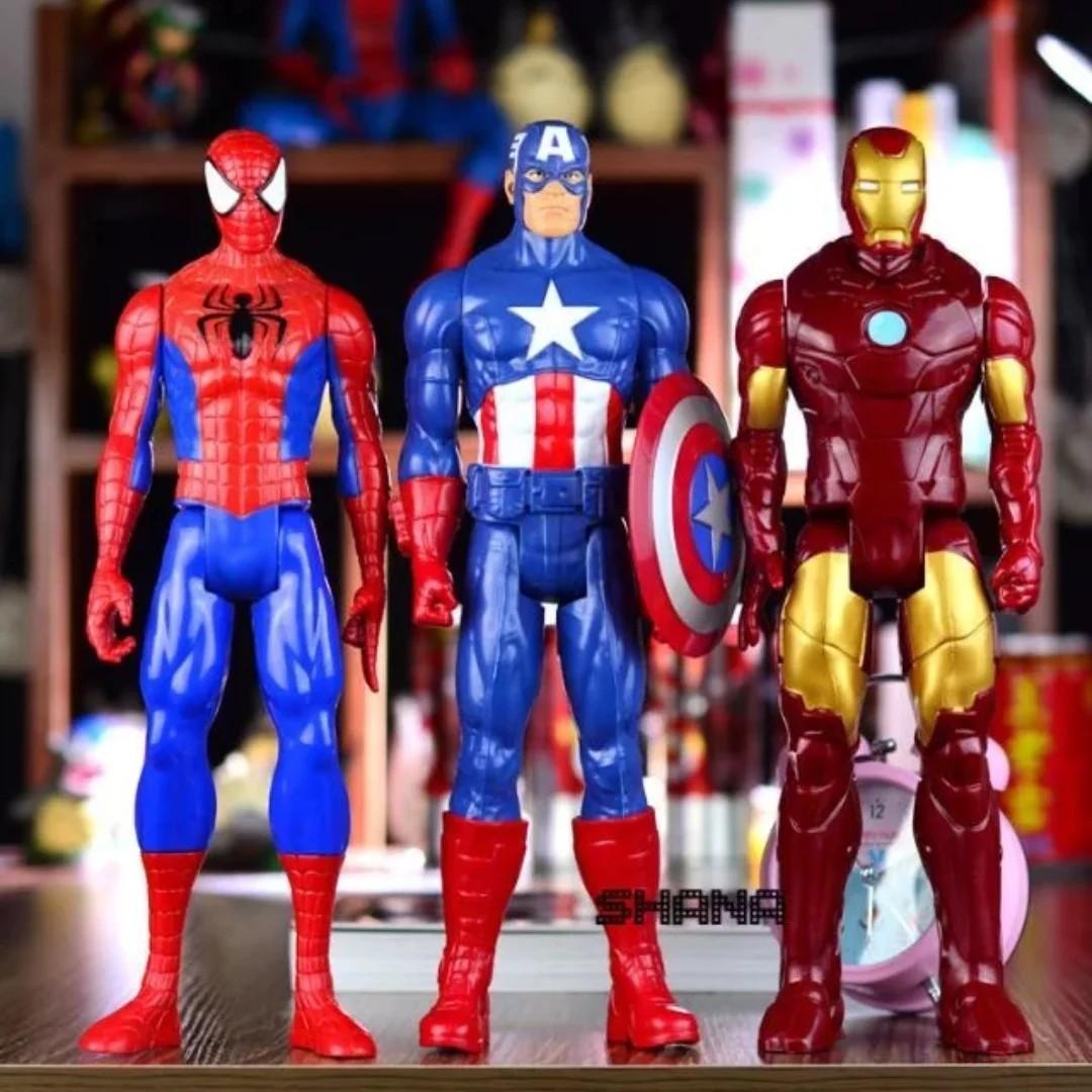 29cm Spiderman Ironman Captain America The Avengers