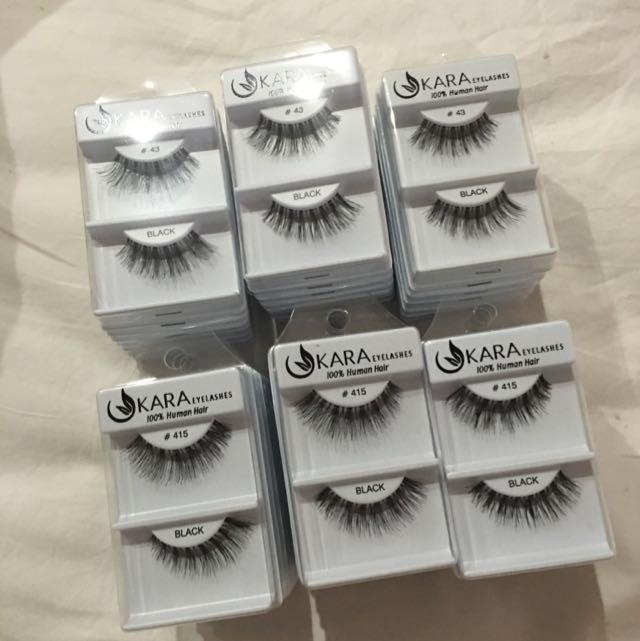 40 Kara Eyelashes 415 43 15 Health Beauty Makeup On Carousell