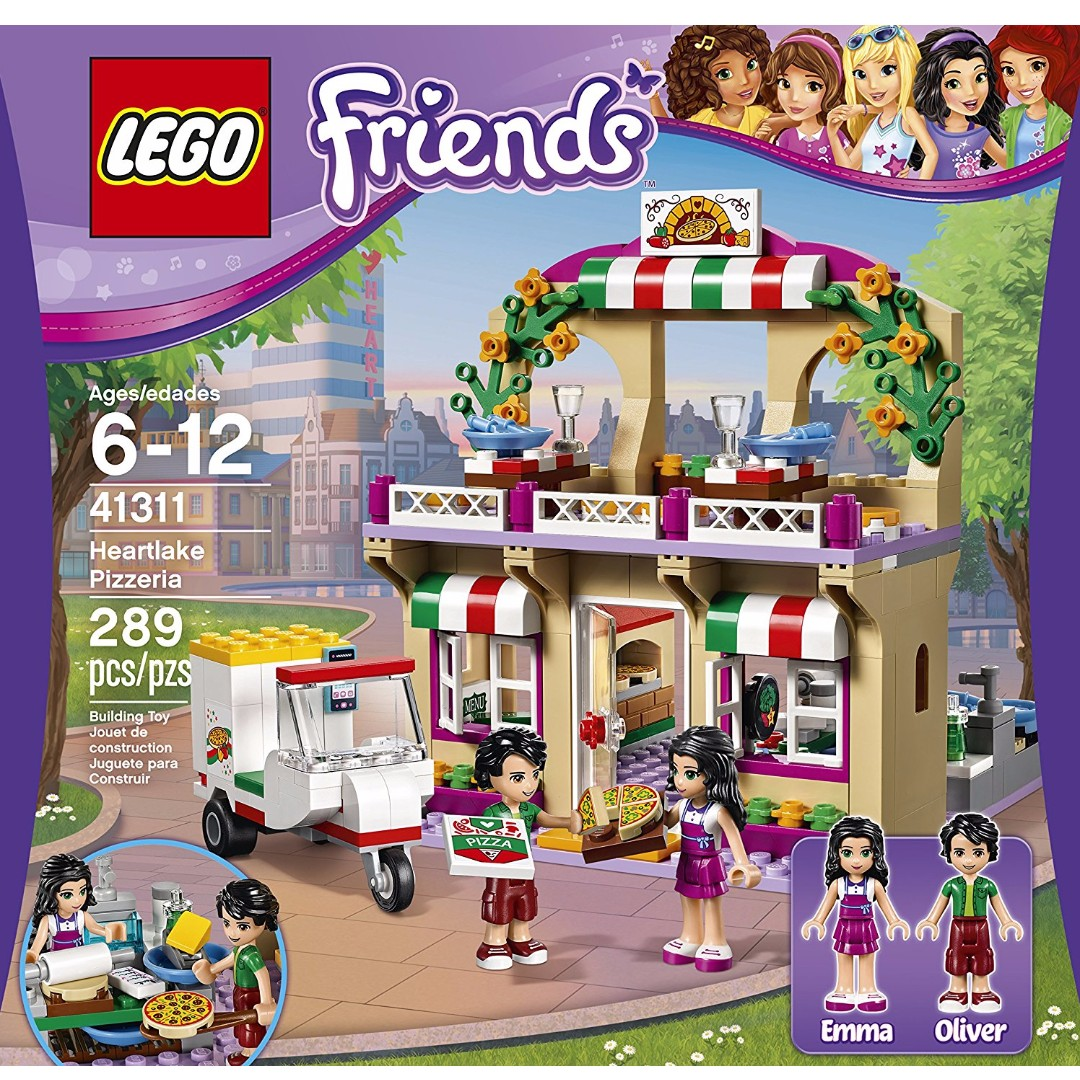 41311 Lego Friends Heartlake Pizzeria Brand New Toys Games