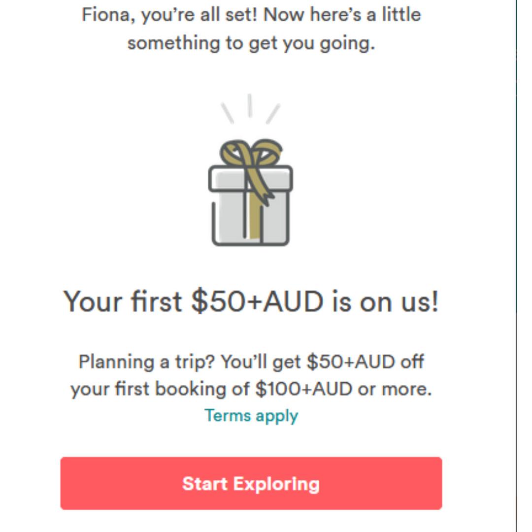 $100 Airbnb Travel Credit