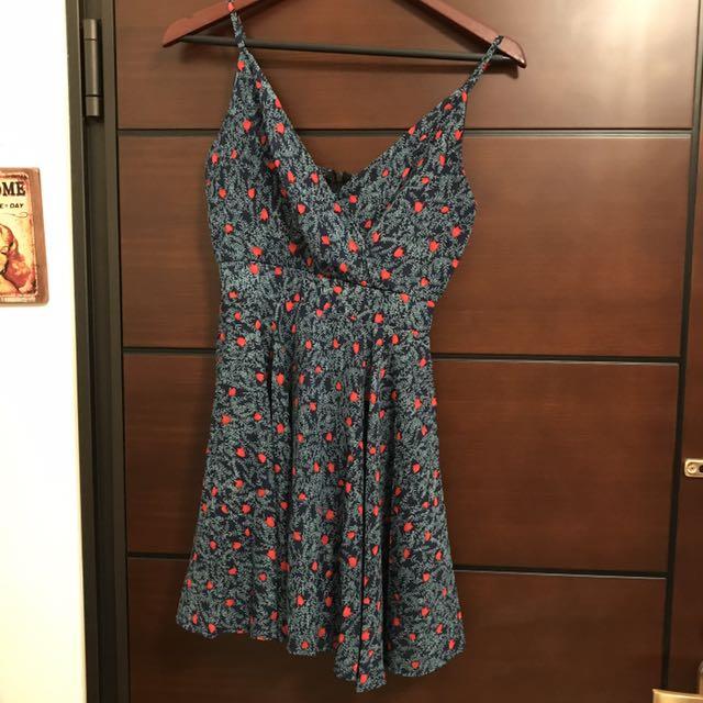 夏日小花洋裝