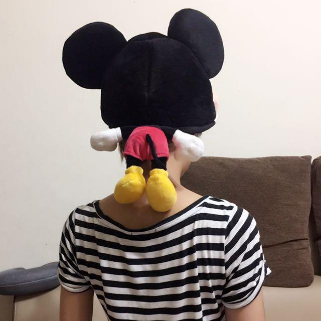 東京迪士尼帶回,米奇大頭帽
