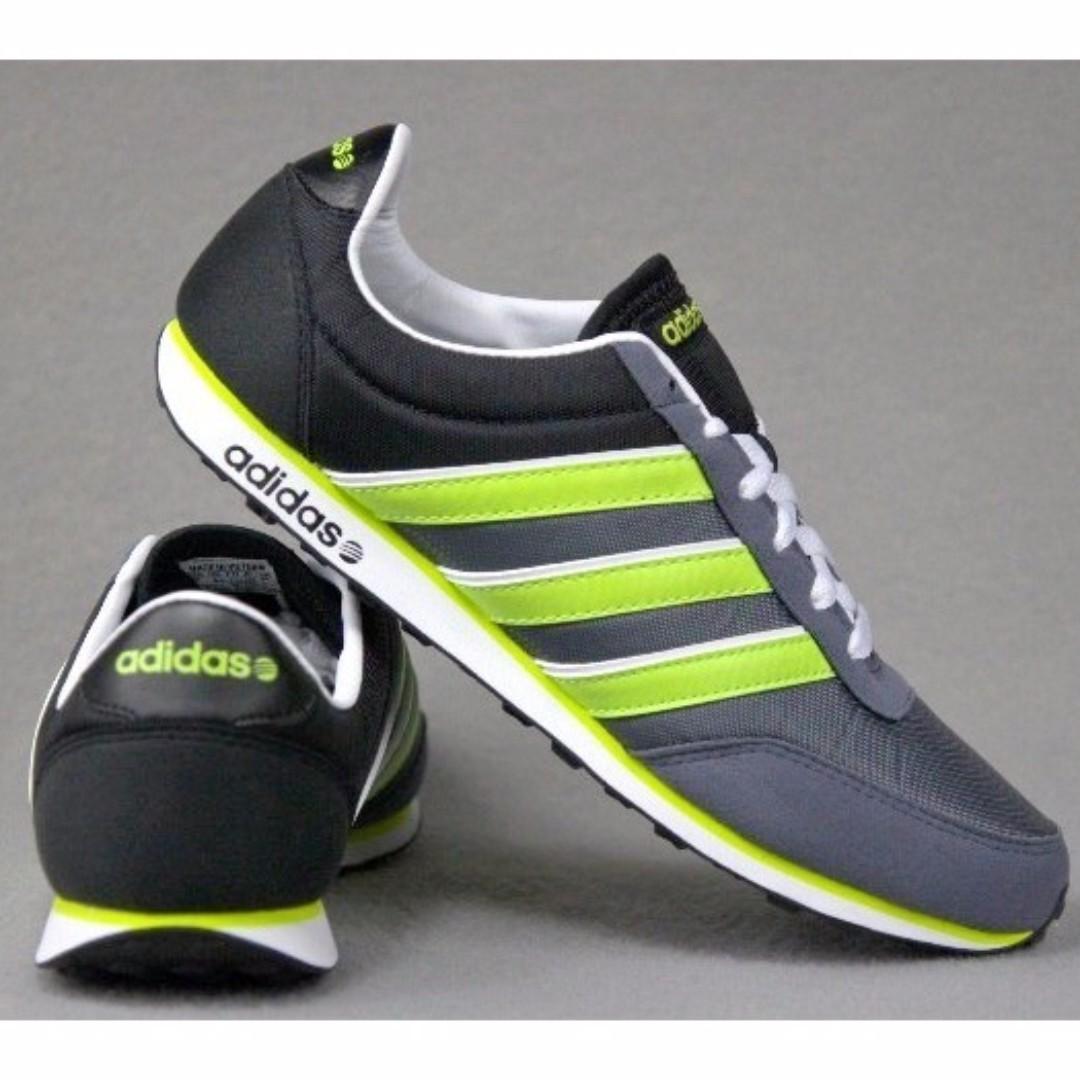 Fuerza motriz Consejos Descriptivo  adidas Men NEO V Racer Nylon Shoes F38510, Men's Fashion, Footwear on  Carousell