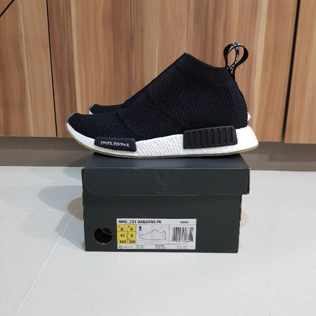 205e3179ba240 Adidas NMD CS1 City Sock United Arrows   Sons US8.5 UK8