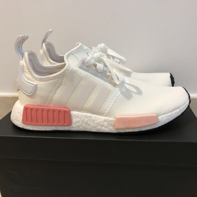 Adidas NMD R1 Rose White Pink BY9952 Size US8   UK 6.5 8c332e278