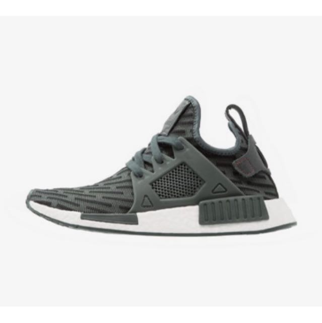 dd5aa1d4 Adidas Nmd R2 XR1 PK Utility Ivy/ Core Red, Women's Fashion, Shoes ...