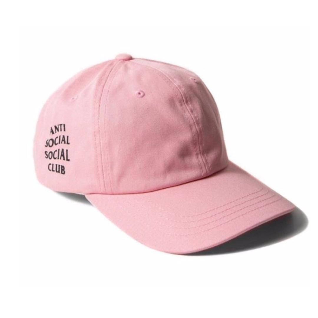 Anti Social Social Club Paranoid Hoodie Kanye Sweatshirts Mens Womens Cap Hat Pink