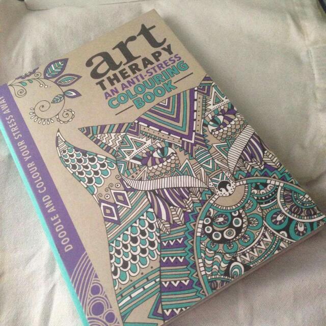 Anti -Stress Coloring Book