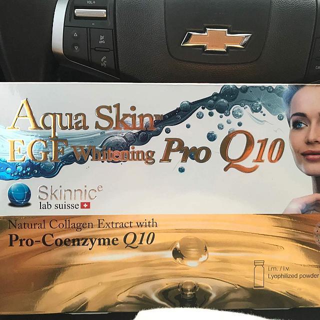 🎀Glutathione Aqua Skin EGF Whitening Pro Q10with Insertion Service Fee