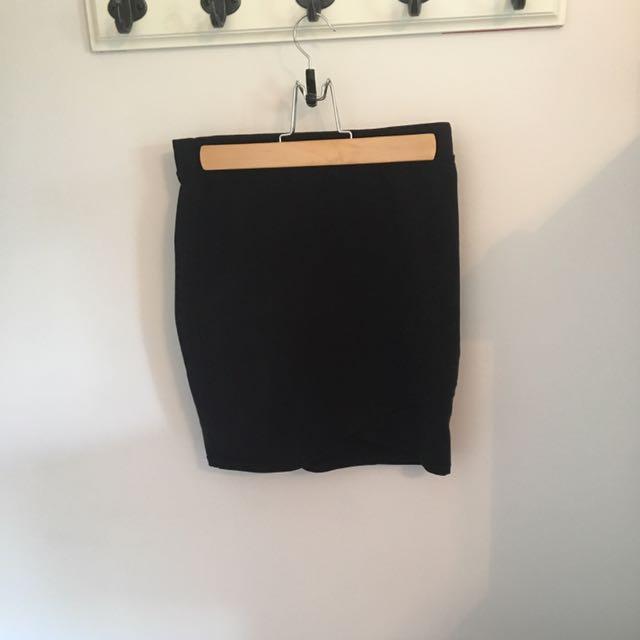 Aritzia Split Pencil Skirt