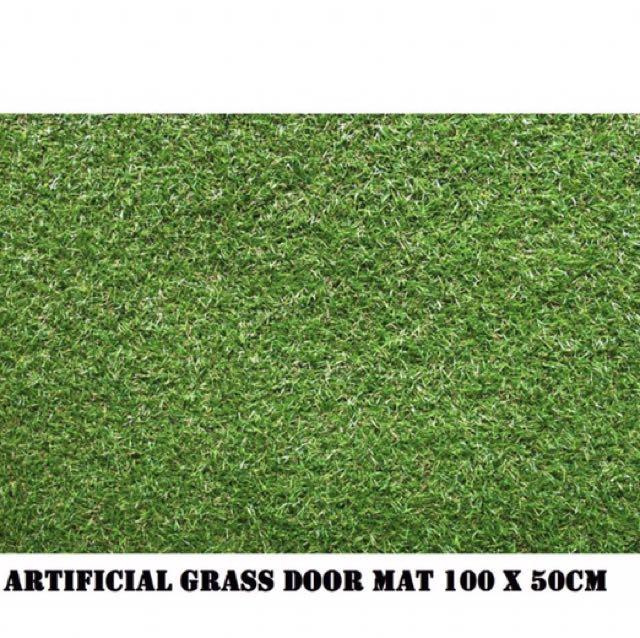 sc 1 st  Carousell & Artificial Grass Door Mat Furniture Home Decor on Carousell