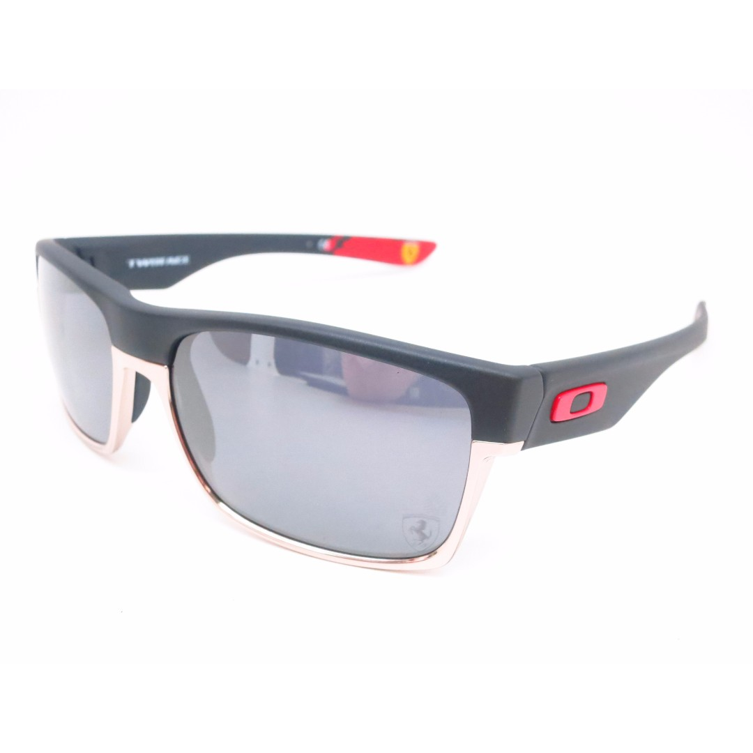b50e1d50e9b61 66acf 3fe9f  australia authentic brand new oakley twoface oo9189 20 matte  black scuderia ferrari sunglasses luxury accessories on