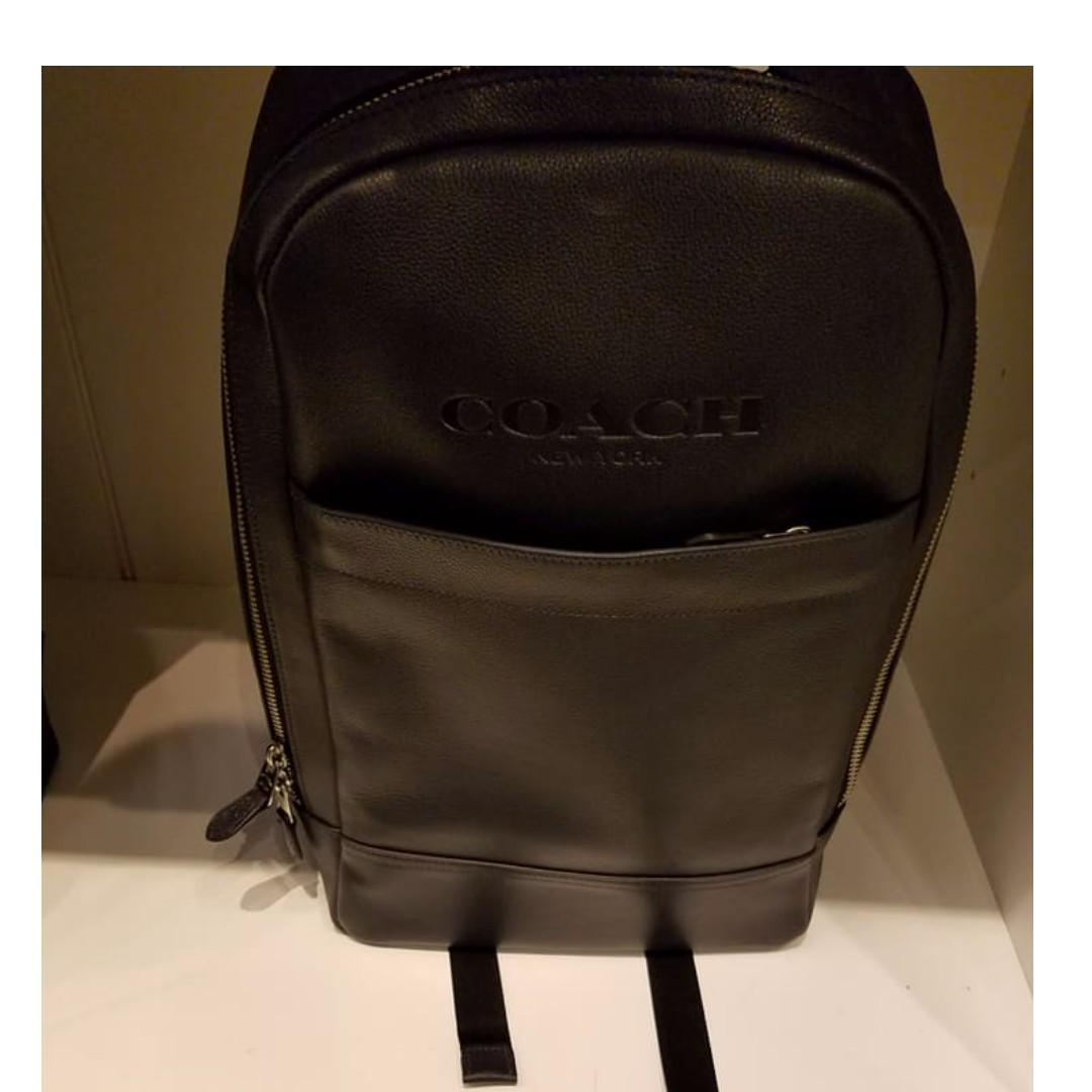 Authentic Coach Bag for Men