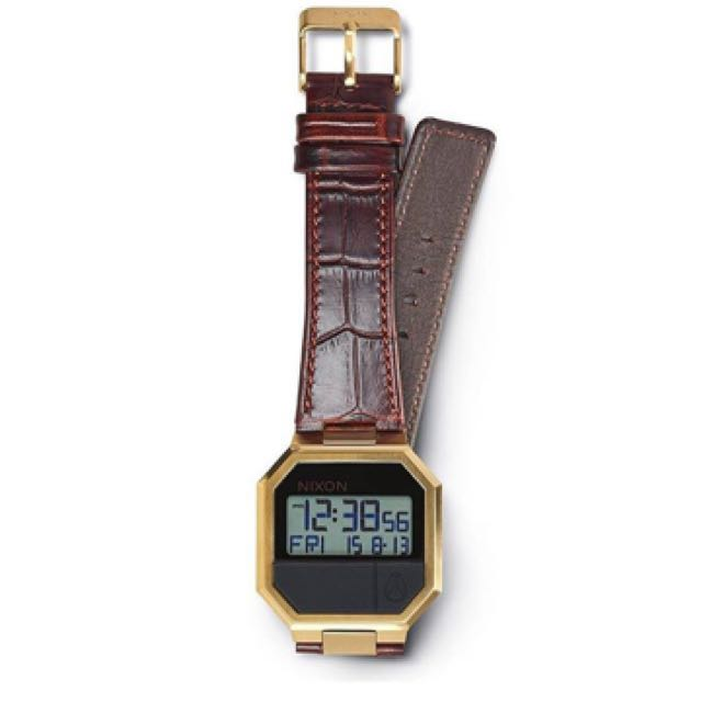 Authentic Nixon The Rerun Leather