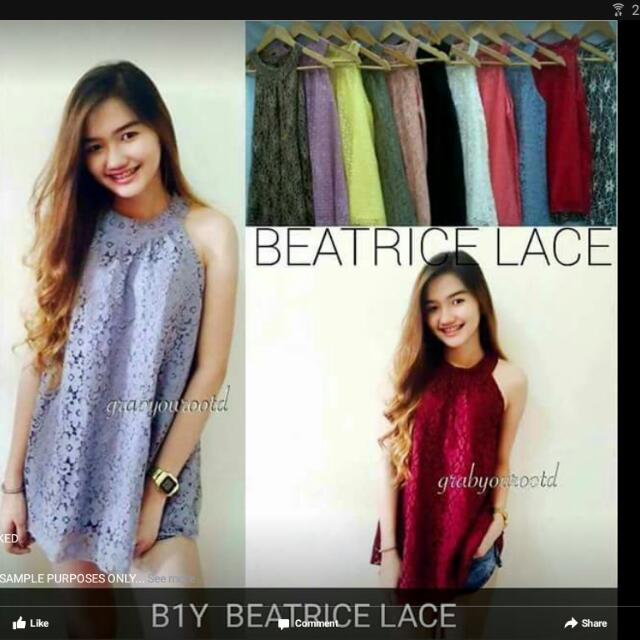 Beatrice Lace Top