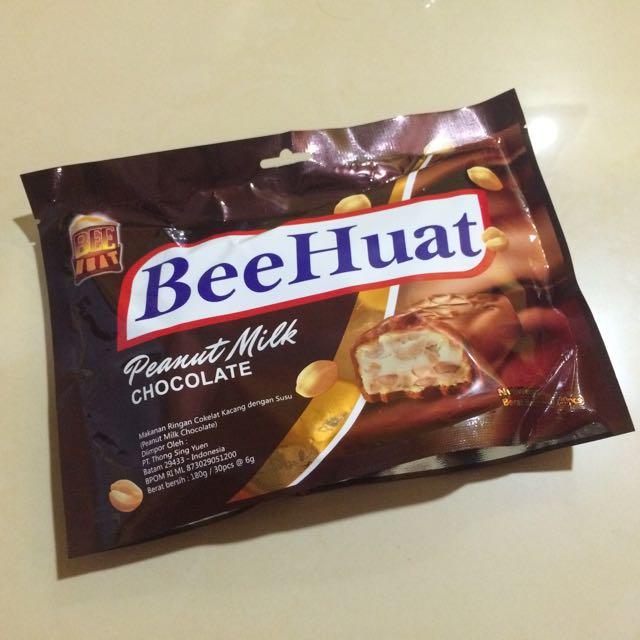 BeeHuat Peanut Milk Chocolate