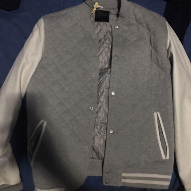 Bershka Bomber Jacket Jersey Jacket Varsity Jacket