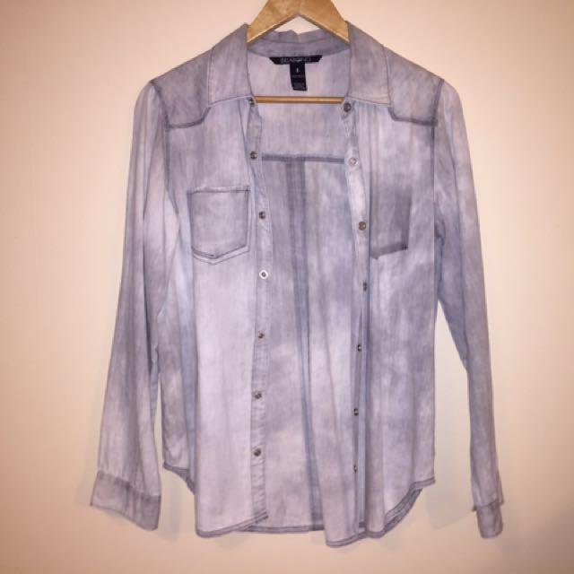 Billabong Denim Shirt Size 8