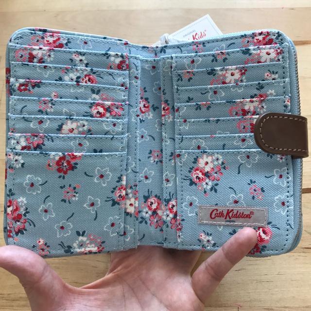 BNwT Cath Kidson Lucky Bunch (Blue) Folded Zip Wallet 2