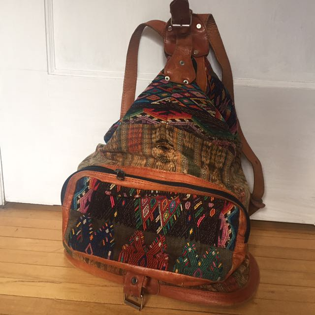 Boho Backpack Rucksack (from Guatemala)