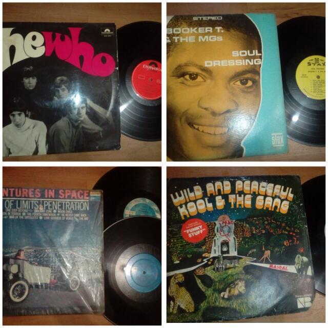 """Vinyl piringan hitam 12"""" 20pcs (bonus 5 pcs 7"""")"""