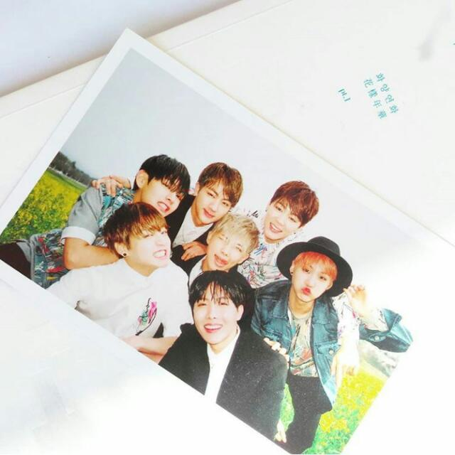 BTS Group Photocard Official