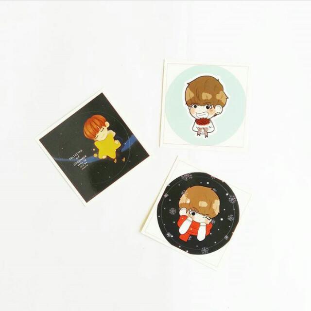 BTS V Sticker Set Felicitas Of December ( Original )