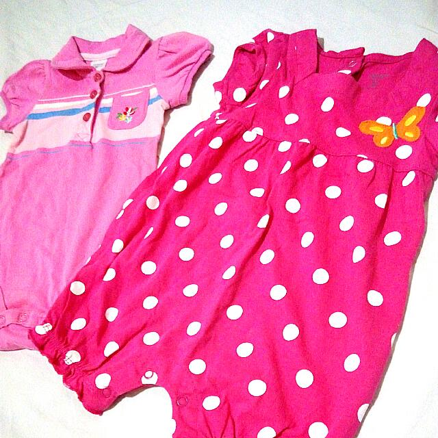 Carter's Romper Pair