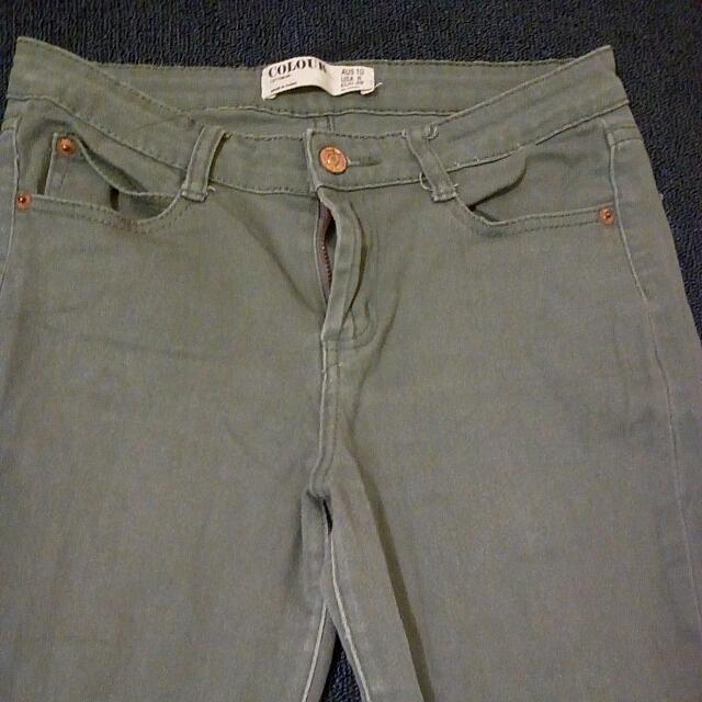 COLOUR Jeans (Green)