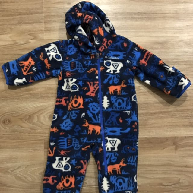 fcaab3e1e 6-12mth Baby Boy Winter Jacket - Columbia Frosty Freeze Bunting ...