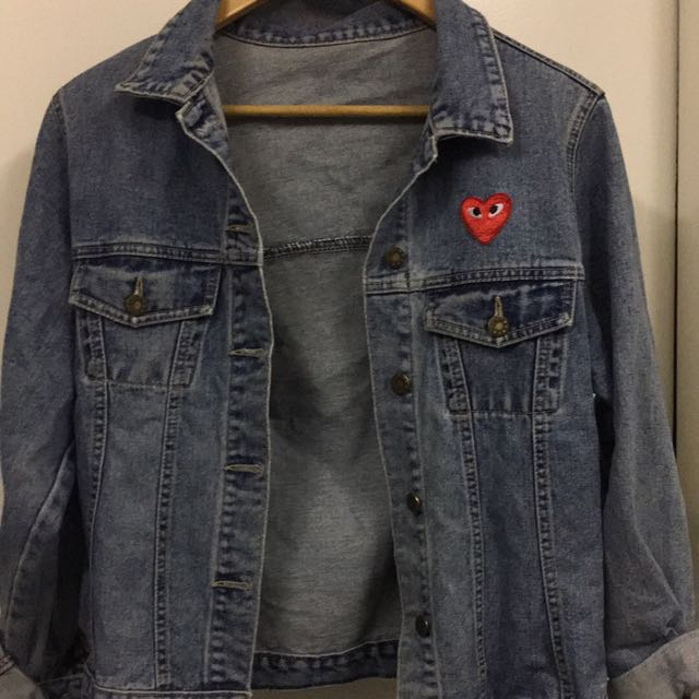 Comme des Garcons Patch Denim Jacket