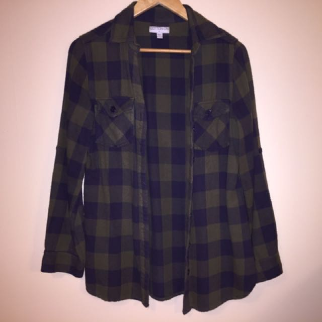 Cotton On Checked Shirt Size M