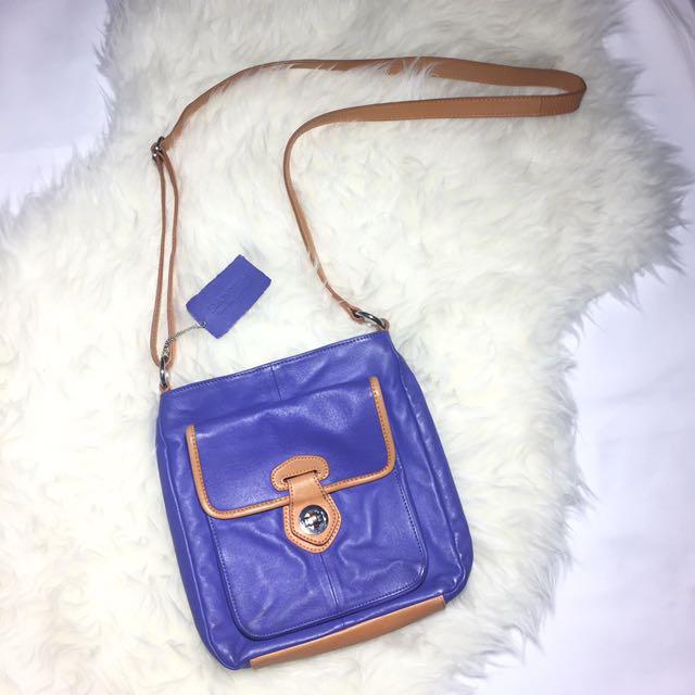 DANIER Genuine Leather Cross Body Bag