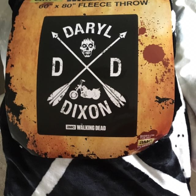 Daryl Dixon Fleece Blanket