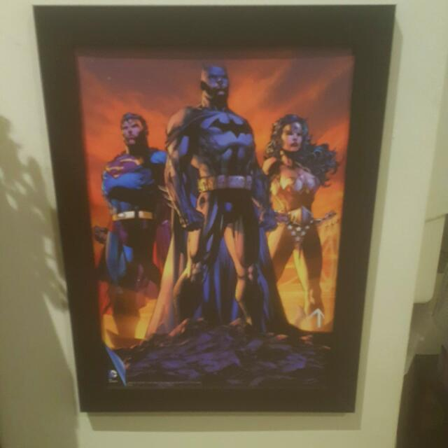 DC Comics Justice League Official Framed Print
