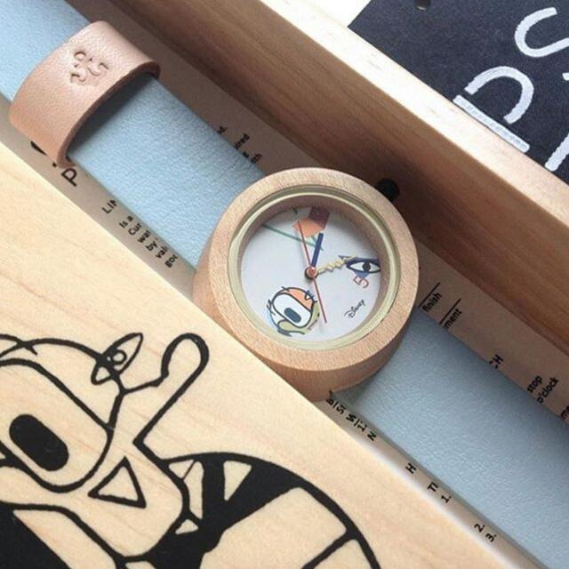 Disney Donald Duck Wooden Watch