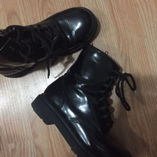 doc martens inspired combat boots
