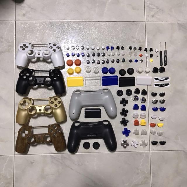 Dualshock 4 Modding Parts
